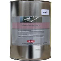Олія біла IRSA DESIGN FARBOIL weiss 2.5 л