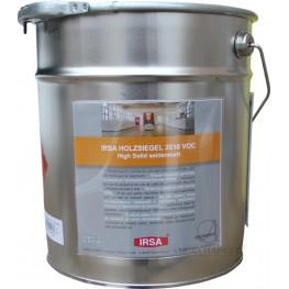 Лак паркетный полиуретан-алкидный полуматовый IRSA HOLZSIEGEL 1K 2010 VOC High SM 5 л