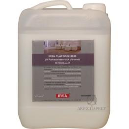 2-к поліуретановий матовий паркетний лак IRSA PLATINUM 2K 3030 UM 4.725л