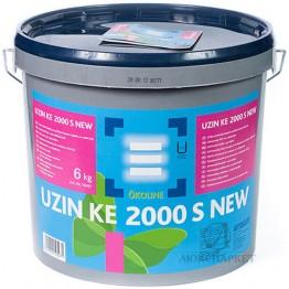 Клей з сильною адгезією для підлогових покриттів Uzin KE 2000S NEU 6 кг