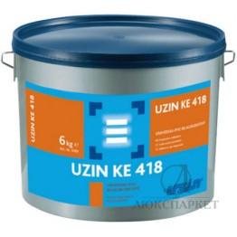 Клей для лінолеуму і текстильних покриттів Uzin KE 418 6 кг