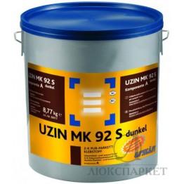 2-к поліуретановий клей для паркету Uzin MK 92S dunkel 8.54 кг