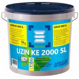 Клей електропровідний для каучукових, ПВХ і ХВ покриттів Uzin KE 2000SL 14 кг