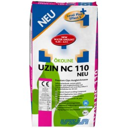 Нівелір-маса для гіпсових підстав 0-30 мм Uzin NC 110 25 кг